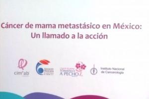 """Manual """"Cáncer de mama metastásico en México: Un llamado a la acción""""."""