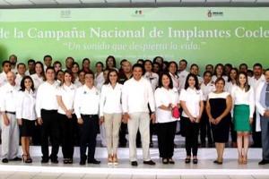 """Segunda Jornada de Implante coclear en México: """"Un sonido que despierta a la vida"""""""