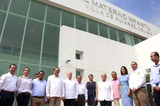 El Secretario de Salud Federal constató la conclusión de obra y proceso de equipamiento médico del Hospital Materno Infantil Villa de Álvarez, que constituye uno de los compromisos presidenciales.