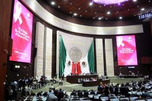 """""""Desde San Lázaro y para todo el país el mensaje es explórate, examínate, quiérete"""", Javier Bolaños Aguilar, presidente de la Cámara de Diputados"""