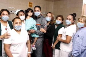 El Hospital de Pediatría del Centro Médico Nacional Siglo XXI es pionero a nivel nacional en esta práctica.