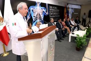 1er. Foro Internacional de Temas Selectos en Ortopedia y Traumatología, ISSSTE capacito a más de 300 profesionales