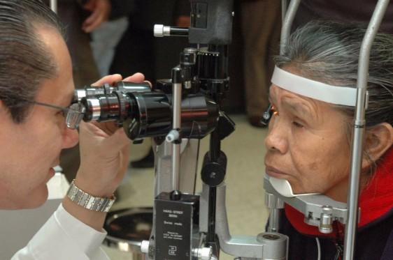 Las principales causas de ceguera son la retinopatía diabética, glaucoma y cataratas