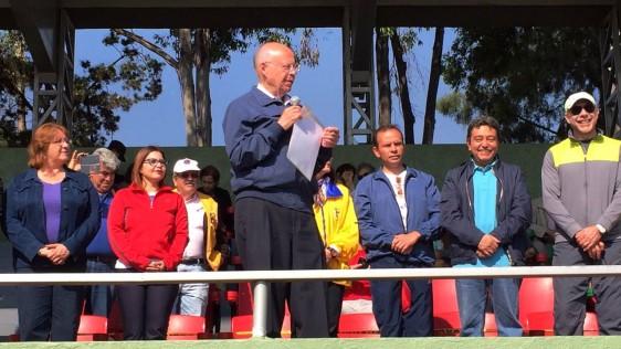 El Secretario de Salud, José Narro Robles dio el banderazo de salida