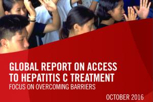 Informe mundial sobre el acceso a los tratamientos de la hepatitis C: la prioridad es vencer los obstáculos