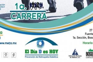 """La Asociación Mexicana de Retina (AMR) con su campaña """"El Día D es Hoy"""" busca impulsar la visita al retinólogo y detectar, prevenir, divulgar y concientizar sobre los problemas de la visión que causa la Diabetes como la Retinopatía Diabética"""