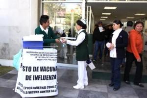 En la temporada de invierno, el Instituto tiene garantizado el 100% del abasto de dosis de vacuna anti-influenza de calidad y seguridad para los grupos de riesgo.