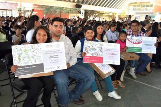 Ganadores de la quinta edición del concurso Dibujando Sonrisas