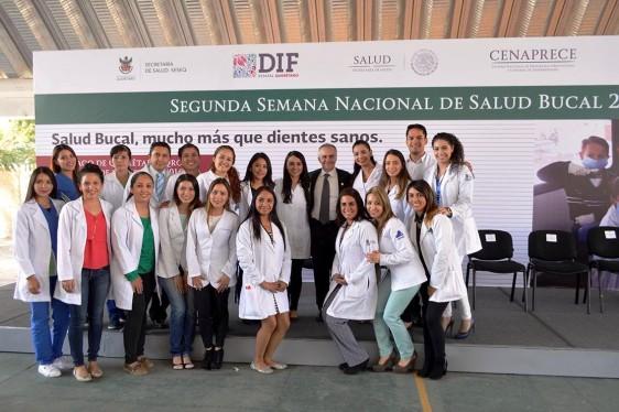 Se lleva a cabo la Segunda Semana Nacional de Salud Bucodental en todo el país