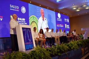 En representación del Presidente Enrique Peña Nieto, el Secretario de Salud inauguró la 70 Reunión Anual de Salud Pública