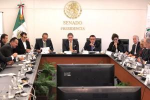 El Dir. General del IMSS, Mikel Arriola Peñalosa, compareció ante la Comisión de Seguridad Social que preside el Senador Fernando Mayans