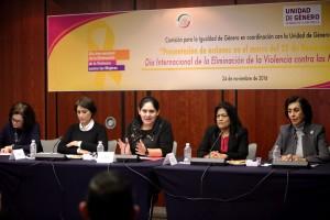 La violencia política es uno de los problemas más serios que tienen las mujeres: senadora Diva Gastélum Bajo.