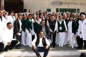 En Villa del Carbón, en una semana, operan de cataratas y estrabismo a 250 beneficiarios de IMSS-PROSPERA de 5 municipios mexiquenses.