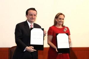 Firman la SRE y el IMSS convenio de colaboración para facilitar trámites y servicios a Mexicanos