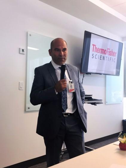 Dr. Carlos Pérez Plascencia, Jefe del Laboratorio de Genómica Funcional del INCan