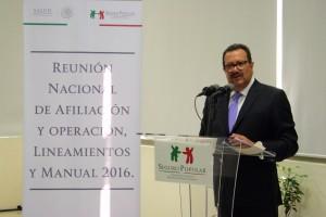 Joel Germán Martínez González, director general de Afiliación y Operación de la CNPSS