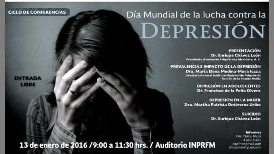 Las personas que hacen intentos suicidas en un alto porcentaje tienen un trastorno mental, entre ellos: depresión