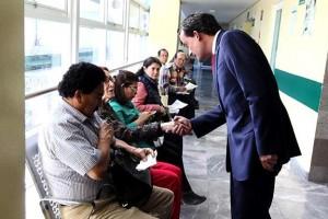 El Titular del IMSS, Mikel Arriola, comienza el año supervisando el servicio médico en clínica de la Ciudad de México