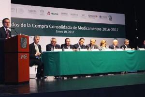 El propósito de la Compra Consolidada es concentrar los requerimientos de bienes terapéuticos del Sector Público