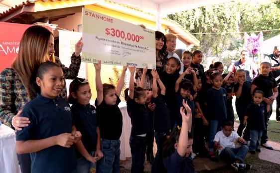 Por noveno año, la compañía se compromete a apoyar el futuro de niños en situación de calle