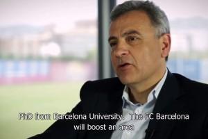 Fútbol Club Barcelona presenta plataforma de capacitación a distancia en Internet para profesionales deportivos