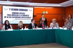 1ª Reunión Ordinaria Comisión Especial Para Impulsar A Estudiantes De Altas Capacidades Intelectuales 16 de Febrero del 2017