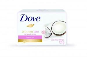 DOVE ofrece un tratamiento de belleza diario con 1⁄4 de crema humectante