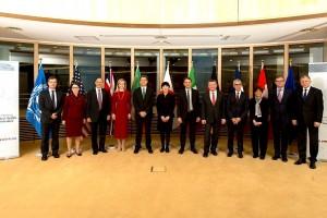 En Bruselas, Bélgica, se efectuó la 17° Reunión Ministerial de la Iniciativa Global de Seguridad en Salud (GHSI)