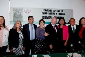 El titular de la CONADIC participó en la Segunda Reunión Ordinaria de la Comisión Especial de Salud Mental y Drogas de la Cámara de Diputados
