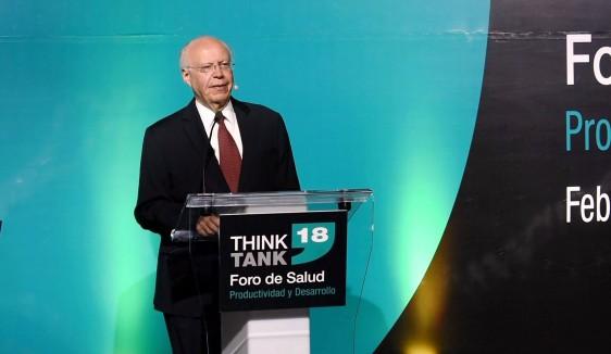 El Secretario de Salud participó en el Foro Salud: Productividad y Desarrollo COPARMEX-Think Tank 18