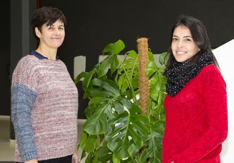 Nerea Lanborena y Yolanda González-Rábago, miembros del grupo OPIK