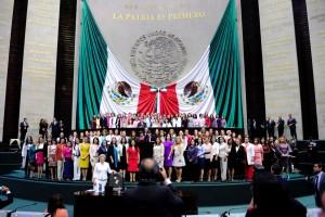 """Presidenta Murguía Gutiérrez reconoció que a pesar de importantes avances, """"falta mucho camino por recorrer"""""""