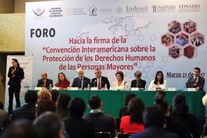 """En el Foro """"Hacia la Firma de la Convención Interamericana sobre la Protección de los Derechos Humanos de las Personas Mayores"""" se propone certificar a personas que se desempeñan como cuidadores de adultos mayores."""