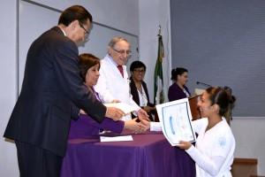 Los 28 graduados forman parte del personal de salud del Instituto Nacional de Ciencias Médicas y Nutrición Salvador Zubirán.