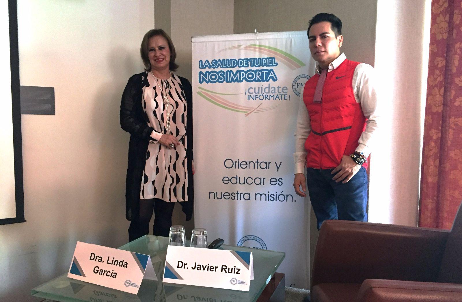 Linda García Hidalgo y Javier Ruiz Ávila