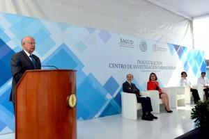 El Secretario de Salud, José Narro Robles, inauguró esta unidad, pionera en el país