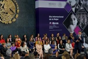 México convoca a trabajar unidos para erradicar y dar lucha frontal contra toda expresión de machismo