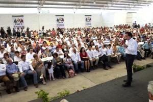 En Jojutla, se firmó un convenio con propietarios rurales para llevar las acciones de PREVENIMSS a lugares de trabajo y el campo.