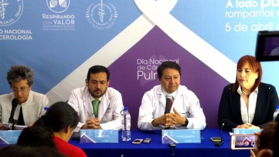 Sra. Mayra Galindo, Dr. Oscar Arrieta, Dr. Abelardo Meneses, Lic. Patricia Mondragón