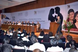 El Secretario de Salud inauguró la 32 Reunión Anual del Instituto Nacional de Perinatología Salud Sexual y Reproductiva del Adolescente: Impacto Perinatal