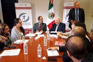 Manuel Mondragón y Kalb y Pablo Moctezuma firmaron un acuerdo para disminuir los índices de consumo de sustancias psicoativas.