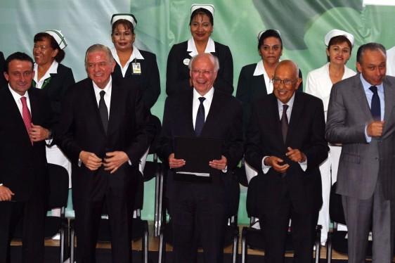 Con la representación del Presidente Enrique Peña Nieto, el Secretario de Salud encabezó la ceremonia conmemorativa
