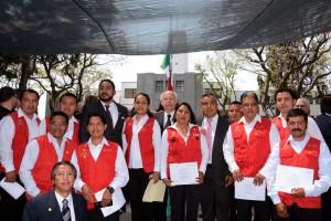 Durante la ceremonia se hizo entrega de 20 reconocimientos a brigadistas integrantes de los Programa Oncocercosis y Tracoma de Chiapas y Oaxaca.