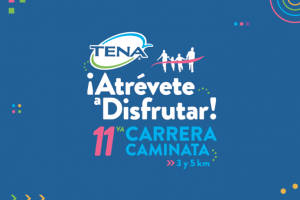Logotipo de la 11ª edición de la Carrera Caminata TENA