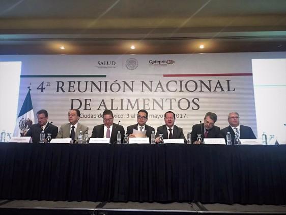 COFEPRIS-20170503-REUNION-NACIONAL-DE-ALIMENTOS