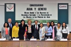 """Se realizó conversatorio """"Agua y Género, México rumbo a los objetivos de Desarrollo Sustentable y la participación de las mujeres en los procesos de agua"""""""