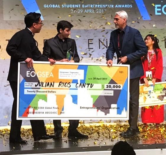 El pasado 29 de Abril se llevó a cabo la Final Mundial de Premio Estudiante