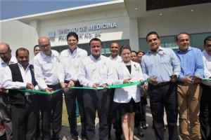 Inaugura Unidad de Medicina Familiar de Tacícuaro que atiende a 48 mil derechohabientes.