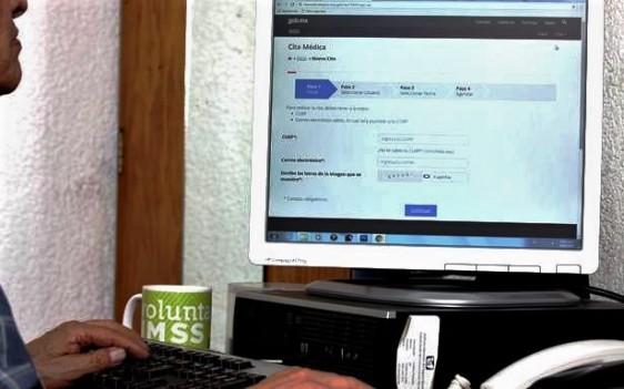 Derechohabientes del IMSS Podrán Solicitar Ahora Cita Médica por Internet