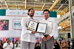 Hoy Baja California se suma como la entidad número 23 donde las guarderías del IMSS cuentan con autorización de validez oficial para impartir educación prescolar.